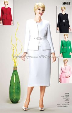 Womens Suits by Night Studio, www.ExpressURWay.com, Womens Suits, Skirt Suits, Church Suits, Business Suits