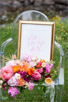 wedding sign idea @w...