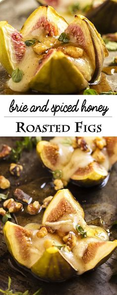 Roasted Fig Appetizer - Figs and brie are great match and so are figs and honey…