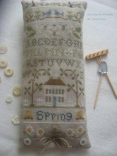 Lovely spring cross stitch