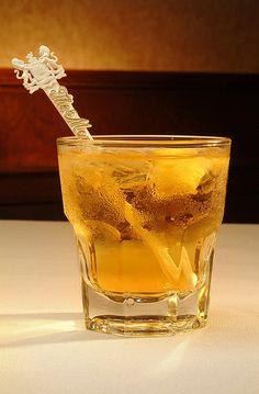 The Vieux Carre Cocktail 3/4 oz Brandy 3/4 oz rye whiskey 3/4 oz sweet vermouth 1/4 oz Benedictine dash Peychauds Bitters dash Angostura Bitters stir with ice strain into glass