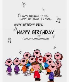 Peanuts Happy birthday dear - Happy Birthday Funny - Funny Birthday meme - - Peanuts Happy birthday dear The post Peanuts Happy birthday dear appeared first on Gag Dad. Birthday Wishes Quotes, Happy Birthday Messages, Happy Birthday Images, Happy Birthday Greetings, Birthday Love, Funny Birthday, Happy Birthday Dear Friend, Naruto Birthday, 17th Birthday