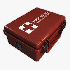 Aid Medical Kit Max - 3D Model