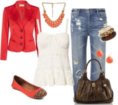 """""""Love Red"""" by pyroprincess on Polyvore"""