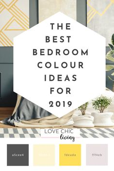 The best bedroom colour schemes for Trends and ideas for decorating your bedroom whether you want modern, contemporary, vintage or traditional, there's something for everyone. Best Bedroom Colors, Bedroom Color Schemes, Colour Schemes, Spring Home, Autumn Home, Home Decor Trends, Home Decor Inspiration, Decor Ideas, Design Your Bedroom