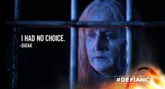 Wow, Datak is breaking our hearts.  @TonyCurran69 #Defiance