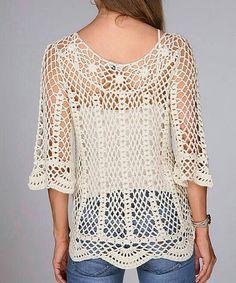 Fabulous Crochet a Little Black Crochet Dress Ideas. Georgeous Crochet a Little Black Crochet Dress Ideas. Mode Crochet, Crochet Diy, Crochet Woman, Irish Crochet, Crochet Crafts, Crochet Tops, Gilet Crochet, Crochet Tunic, Crochet Clothes