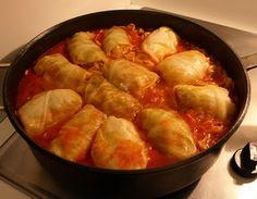 Grandma Belle's Stuffed Cabbage Recipe. I make it with ground turkey~