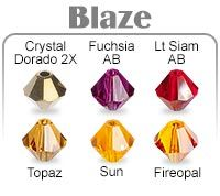 Chart - Swarovski Crystal Assorted Color Packs - Fire Mountain Gems and Beads