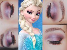 Disney's Frozen's - Elsa makeup