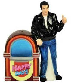 Happy Days - Fonz & Jukebox - Salt & Pepper Shakers