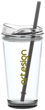 clear tumbler- comes in tons of colors
