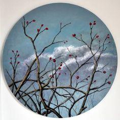 "Saatchi Art Artist Wela Elisabeth; Painting, ""Souvenir of a landscape."" #art"