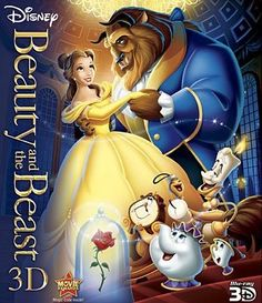 Disney's Beauty and the Beast has been winning hearts since it was released in 1991.  This movie is especially noteworthy because it is the only animated movie to receive a Best Picture Oscar nomination because it featured an amazing soundtrack with the title song by Angela Lansbury winning an Academy Award for Best Original Song.