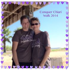 My mom and I on walk day... Walking for our little trooper. She left her house at 3am to make our walk!!! Wonderful support!!!