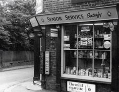 The old paper shop.glory be,,; Candid Photography, Street Photography, Family Memories, Childhood Memories, Senior Services, Leigh On Sea, High Street Shops, Sign Writing, Old Street