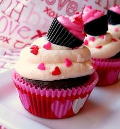 Dubbele cupcake