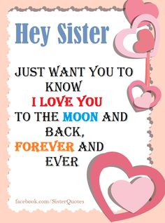 love you sisters quotes – Love Kawin Little Sister Quotes, Sister Poems, Sister Quotes Funny, Brother Sister Quotes, Sister Prayer, Grandpa Quotes, Sister Friends, True Friends, Hey Sister