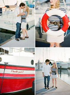Nautical wedding photos  Get your Nautically themed #weddinginvitations here: www.digbyrose.com  #digbyrose
