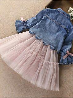Baby Girls Espagnol Floral Imprimé Robe À Nœud /& Matching Cardigan Outfit