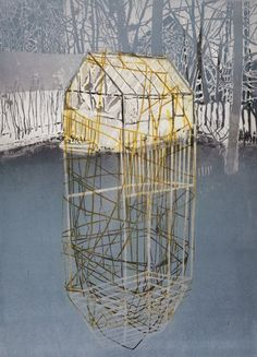 Paxton'€™s Glass House No. 2 by Katherine Jones (at New Blood Art)