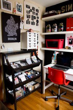 photographer Candice Stringham's office