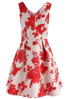 5b56cfca6689 Fall in Flamboyance Jacquard Embossed Dress- New Arrivals - Retro