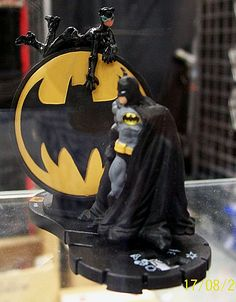 ahhhhhhhhh I have this Heroclix and it was a promotional give away and rare I believe.......of course Batman is my fav.....sees mine sitting on computer still in cellophane.......