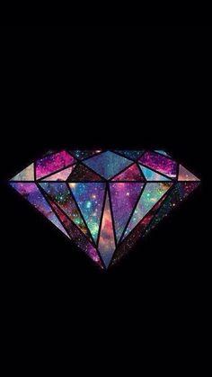 Imagen de diamond and galaxy