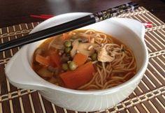 Wok, Chinese, Japanese, Ethnic Recipes, Soups, Cilantro, Japanese Language, Soup, Chinese Language