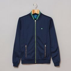 adidas Stan Track Top in Dark Indigo