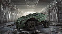 Military vehicle by Adam Zimirski | Sci-Fi | 3D | CGSociety
