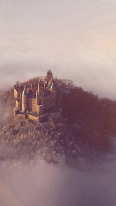 Castle Sky Cloud Dream Fantasy Art Nature Flare #iPhone #5s #wallpaper
