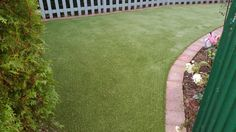 Namgrass Elise turns the most dark and muddy corner of the garden into an inviting place to be. Landscape Services, Outdoor Living, Outdoor Decor, Stepping Stones, Grass, Corner, Dark, Places, Garden
