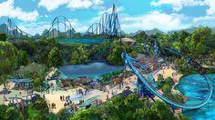 Nova Montanha-Russa do Seaworld Orlando: Mako