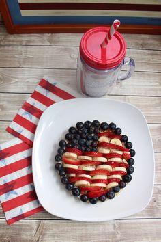 Patriotic Waffles -