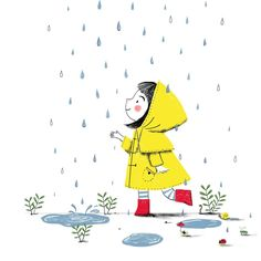 ・・・ Happy Monday everyone! I'm a few days late, but here is my piece for ☔🌈💦 I'm trying to get back into doing a weekly colour collective for my own enjoyment and to develop my style further. Art And Illustration, Cartoon Drawings, Easy Drawings, Love Doodles, Doodle Art, Cute Art, Art Sketches, Illustrators, Book Art
