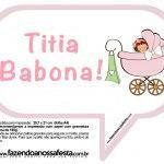 Plaquinhas Divertidas Chá de Bebê Menina 13