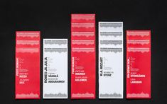 Brand identity and programme for Helsinki Philharmonic Orchestra by Bond, Finland