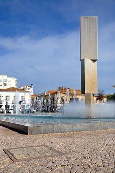Brunnen in Portimao