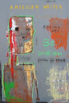 du Basquiat de l'art brut et la palette est vraiment high contrast
