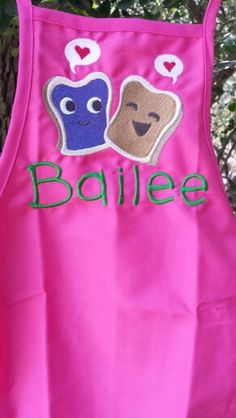 Apron for helping mommy or  MomMom in the kitchen
