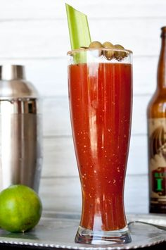 BEER COCKTAILS: Brewed Mary: Beer Bloody Mary FROM The Beeroness