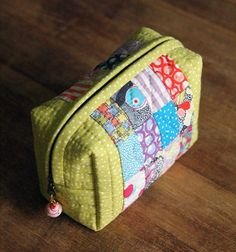 Small Bag of Patchwork DIY tutorial