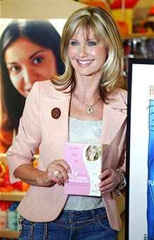 Olivia Newton-John during Olivia Newton-John Celebrates the Sale of Her Liv Kit self breast examintaion kit at Savon - October 7, 2004 at Savon, Burbank in Burbank, California, United States.