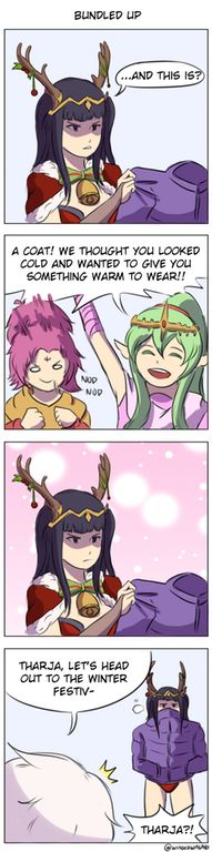 A gift for Tharja : FireEmblemHeroes
