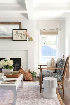 Living Room Themes, Beige Living Rooms, Cottage Living Rooms, Transitional Living Rooms, Living Room Colors, House Rooms, Living Room Furniture, Transitional Decor, Rustic Furniture
