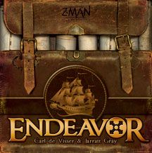 Designed by Carl De Visser and Jarratt Gray  It is a time when the maps of the world are still being filled in. Seagoing empires expand their frontiers by sending ships to the farthest reaches of the globe in search of new lands, new allia