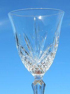 Cristal D'Arques Cris JG Durand GARANTI Crystal Water Wine Goblets Stemware  #CristalDArques