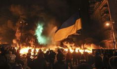 Kiev, january 2014 Ukraine's demonstrations turn violent Photo by Volodumyr Ogienko